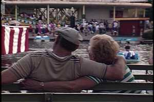 Watching the Paddle Boats in 1987.