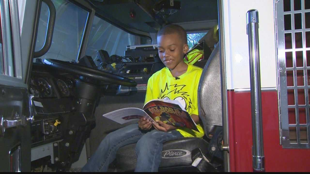 6-year-old writes children's book about firefighter dad