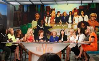"Broadcasting legend Barbara Walters says goodbye to daily television with her final co-host appearance on THE VIEW,on May 16, 2014.  A surprise appearance from Oprah Winfrey leads to one historic, monumental television event when Winfrey does a landmark roll call of introducing 25 incredible female journalists who were influenced by Barbara Walters. Plus the day earlier, for the first time in television history, all 11 co-hosts of ABC's ""The View,"" present and past, shared the same stage, live."
