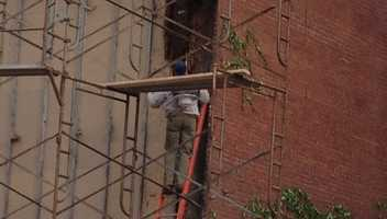 While conducting upgrades to their building, Penn Brewery in Pittsburgh, discovered a large bee hive in the structure. Local Beekeeper, Steve Repasky, was called in to safely remove it. Check out the photos...