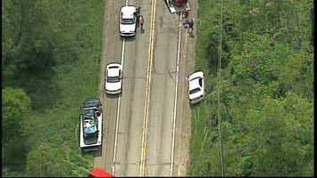 Three people were injured Friday afternoon in a crash on Route 228 in Butler County.