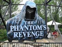 Ten years after the Steel Phantom made its debut, an updated version called The Phantom's Revenge opened in 2001. It's still in operation today.