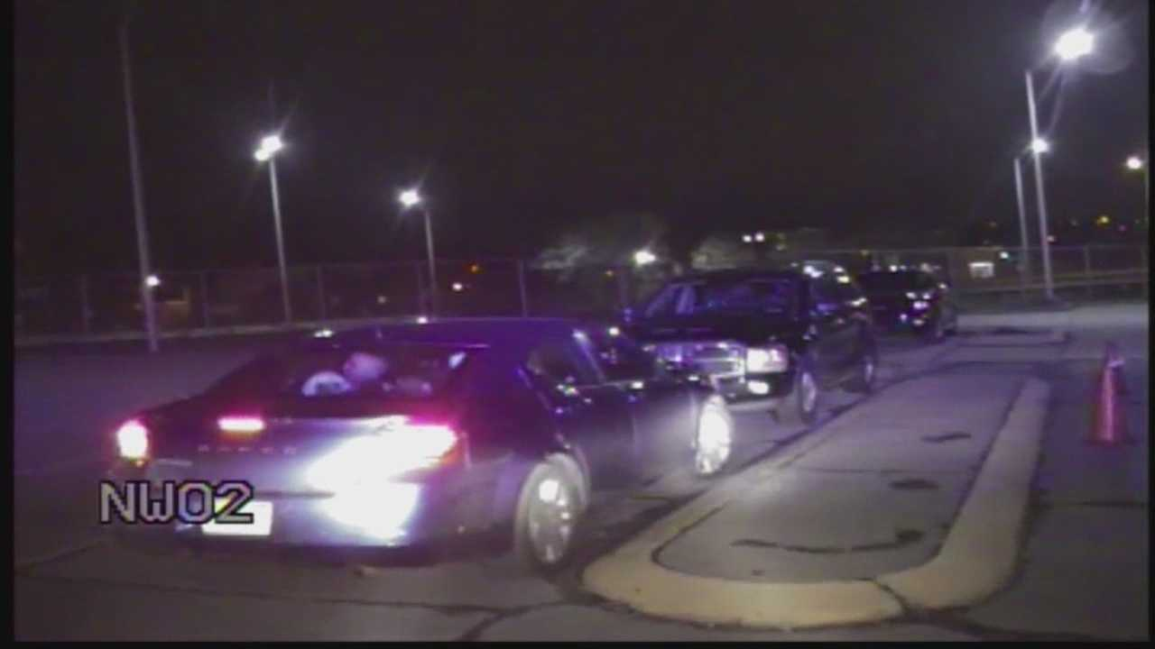 Shootout caught on dashboard camera