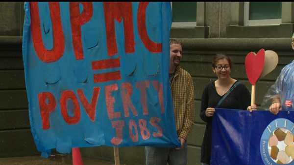 UPMC protest