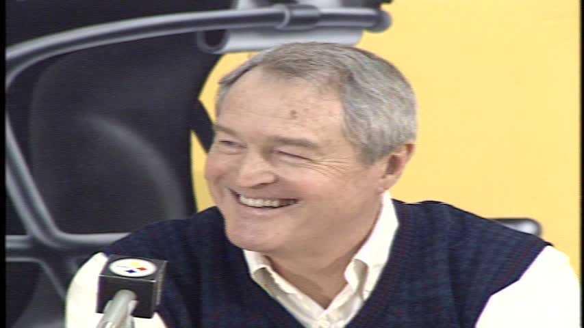Chuck Noll in 1991