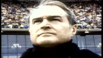 Chuck Noll was a no-nonsense coach, and his Pittsburgh Steelers followed his lead to win four Super Bowls.