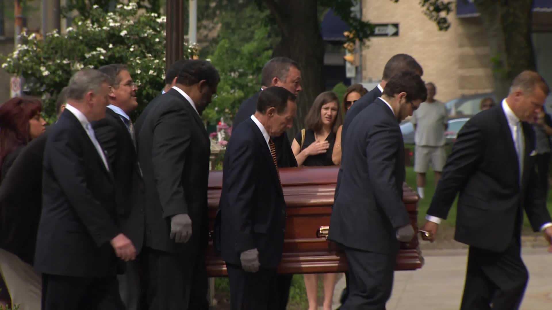 Chuck Noll funeral