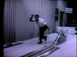 Bowling shows were televised live from WTAE's in-studio bowling lanes.