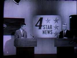 "Carl Ide (right) and Ed Conway (left) anchored the ""4 Star News"" on WTAE every night at 7 p.m."