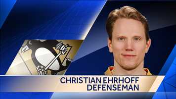 The Penguins agreed to a one-year deal worth $4 million with defenseman Christian Ehrhoff.