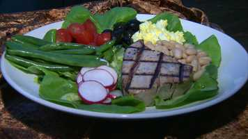The restaurant also created a new signature salad in honor of the rock star.