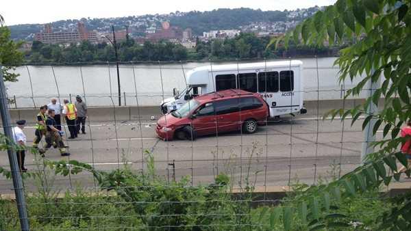 Parkway East crash