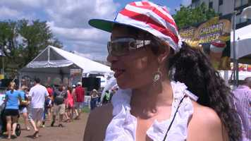 This woman said there was much more to see at the Regatta now, compared to the last time she visited.