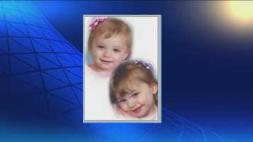 Ryeley Beatty, age 3, and Brooklyn Beatty, 2.