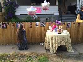 A community vigil was being held Monday night for two young sisters who died after they were crushed by the weight of a dresser that fell on them in their Beaver County home.