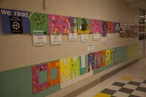 The classroom is decorated for students.