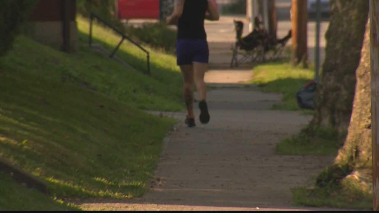 jogging - running