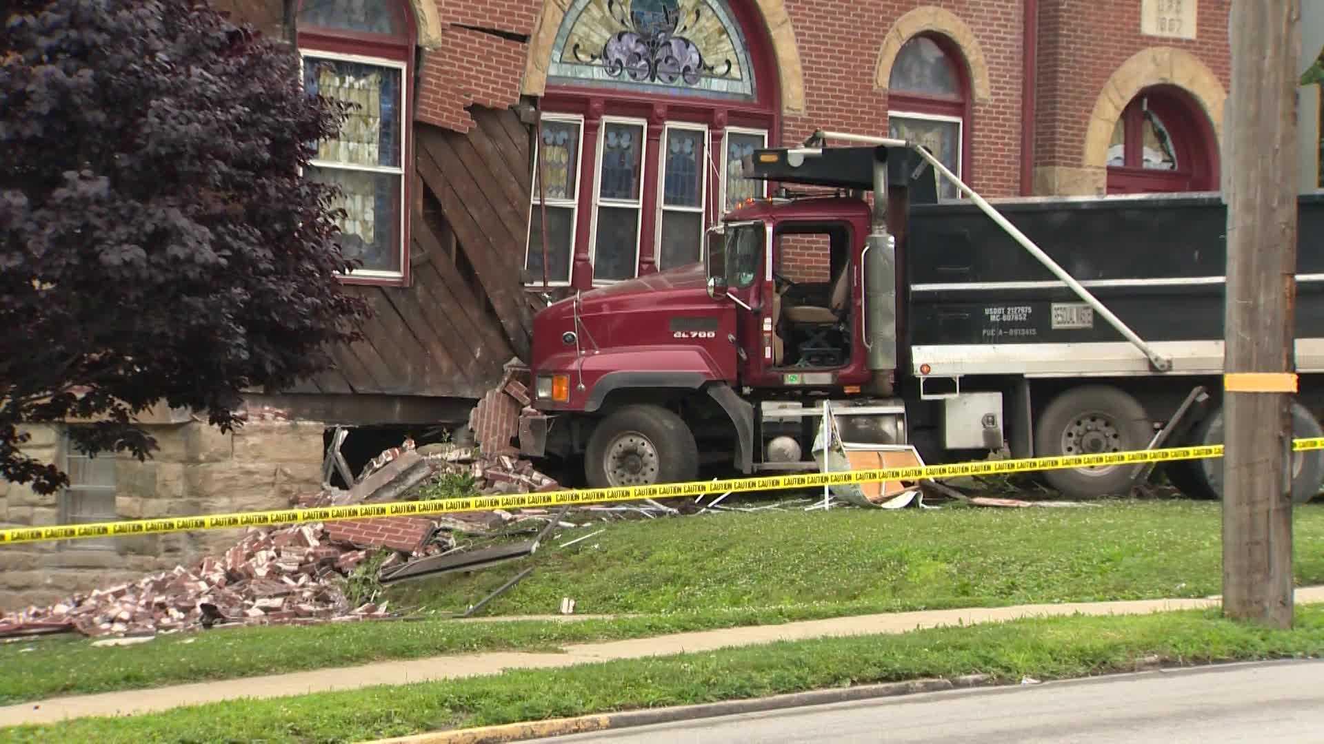 Zelienople church damage