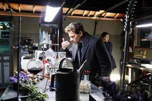 """What if you could be immortal and live forever? Would you find it a blessing or a curse? Meet Dr. Henry Morgan (Ioan Gruffudd), New York City's star medical examiner who has an unusual secret. He doesn't just study the dead to solve criminal cases -- he is trying to solve a mystery that has eluded him for over 200 years: his own inexplicable immortality. Henry's exciting, adventurous and intriguing long life has blessed him with amazing insight and observational skills, which not only impresses his new partner, Detective Jo Martinez (Alana De La Garza), but peaks her curiosity about who he is. Each week, a new case and their budding friendship will peel back the layers of Henry's colorful extraordinary past, on ABC's new drama, """"Forever.""""(ABC/Patrick Harbron)"""