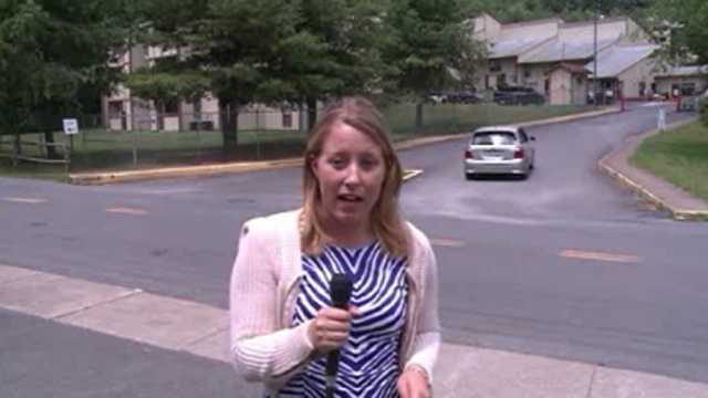 Reporter shot at while covering story