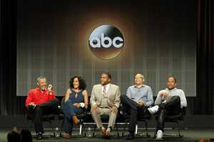 "TCA SUMMER PRESS TOUR 2014 - ""black-ish"" Session - The cast and producers of ABC's ""black-ish"" addressed the press at Disney ¦ ABC Television Group's Summer Press Tour 2014. (ABC/Rick Rowell)"