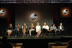 "TCA SUMMER PRESS TOUR 2014 - ""Manhattan Love Story"" Session - The cast and producers of ABC's ""Manhattan Love Story"" addressed the press at Disney ¦ ABC Television Group's Summer Press Tour 2014. (ABC/Rick Rowell) CHLOE WEPPER, NICOLAS WRIGHT, JADE CATTA-PRETA, JAKE MCDORMAN, ANALEIGH TIPTON, JEFF LOWELL (CREATOR/EXECUTIVE PRODUCER), ROBIN SCHWARTZ (EXECUTIVE PRODUCER), PETER TRAUGOTT (EXECUTIVE PRODUCER)"