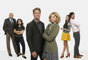 "ABC's ""Manhattan Love Story"" stars Kurt Fuller as William, Chloe Wepper as Chloe, Jake McDorman as Peter, Analeigh Tipton as Dana, Jade Catta-Preta as Amy and Nicolas Wright as David."