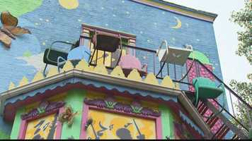A waiter by day, Randy Gilson used tip money to buy paint for Randyland and in his spare time found special things that others have thrown away.