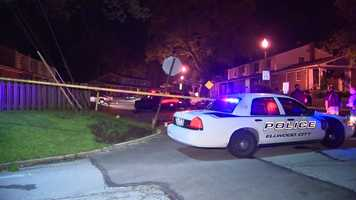 The shooting happened around 10:30 p.m. Sunday on Loop Street.