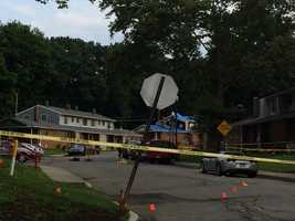 State police say three people were shot at a public housing complex in Ellwood City.