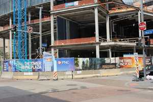 In 1994, there was a record store at the end of that block, and a Pizza Hut next door was always packed at lunchtime. Today, the whole block is gone. It will soon be the home of the city's newest skyscraper, the Tower at PNC Plaza.