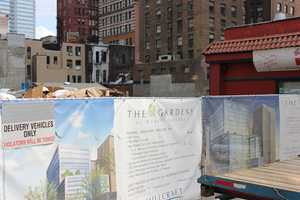 A mixed-use project called The Gardens at Market Square is underway here. It will include office space, a parking garage and a Hilton Garden Inn hotel.