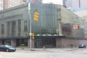 Today, Saks is closed. Rumors are flying about who might move into the building next, but nothing has been finalized.
