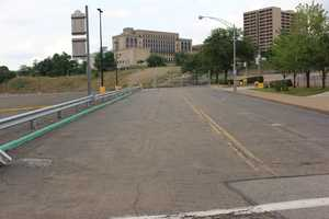 Today, as you look down Mario Lemieux Place, there's no indication that Lemieux was ever here. The arena is gone and an empty parking lot sits in its place.
