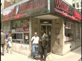 From 1994: A look at the Wiener World restaurant across the street from Smithfield Cafe.