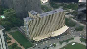 Today, 20 years later, it's being operated as a Wyndham hotel.