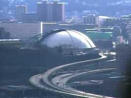 "In 1994, if you headed uptown just two blocks from the Mellon Bank Center, you found the Civic Arena. Nicknamed the ""Igloo,"" it was the home of Pittsburgh Penguins hockey. (Remember, this was just two years after the Pens won the Stanley Cup.)"