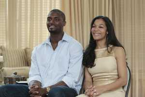 "PLAXICO BURRESS & TIFFANY BURRESS  --""DJ Paul/Plaxico Burress"" - Academy Award-winning rapper DJ Paul of Three 6 Mafia and former NFL wide receiver Plaxico Burress are featured on the SEASON FINALE of ABC's ""Celebrity Wife Swap,"" TUESDAY, JULY 29 (10:00- 11:00 p.m., ET). 
