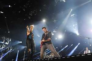 "BRIAN KELLEY OF FLORIDA GEORGIA LINE  --CMA MUSIC FESTIVAL: COUNTRY'S NIGHT TO ROCK - The ABC Television Network airs ""CMA Music Festival: Country's Night to Rock"" on TUESDAY, AUGUST 5 (8:00-11:00 PM/ET). (ABC/Derek Martinez)"