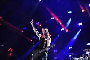 """TYLER HUBBARD OF FLORIDA GEORGIA LINE -- CMA MUSIC FESTIVAL: COUNTRY'S NIGHT TO ROCK - The ABC Television Network airs """"CMA Music Festival: Country's Night to Rock"""" on TUESDAY, AUGUST 5 (8:00-11:00 PM/ET). (ABC/Derek Martinez)"""
