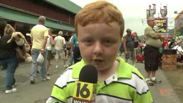 Apparently kid TV interview