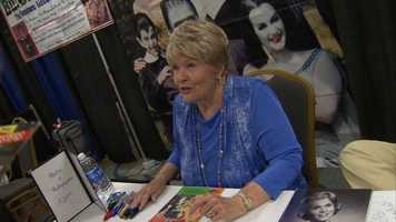 "Pat Priest played Marilyn Munster on ""The Munsters"""