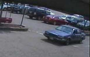 Pittsburgh police say these are video images from the parking lot of the Parkway Center Giant Eagle at the time that two elderly women were the victims of a purse-snatching outside the store. Police said it happened between 2 p.m. and 2:15 p.m. Saturday.