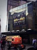 """""""Hope"""" comes to Pittsburgh. The old Saks Fifth Avenue building is turned into Madison Square Garden."""