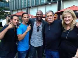 Group shot of Vito, Jose, Antoine, Jimmy and Gloria ... it's a wrap!