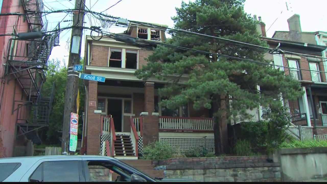 East Allegheny fire scene