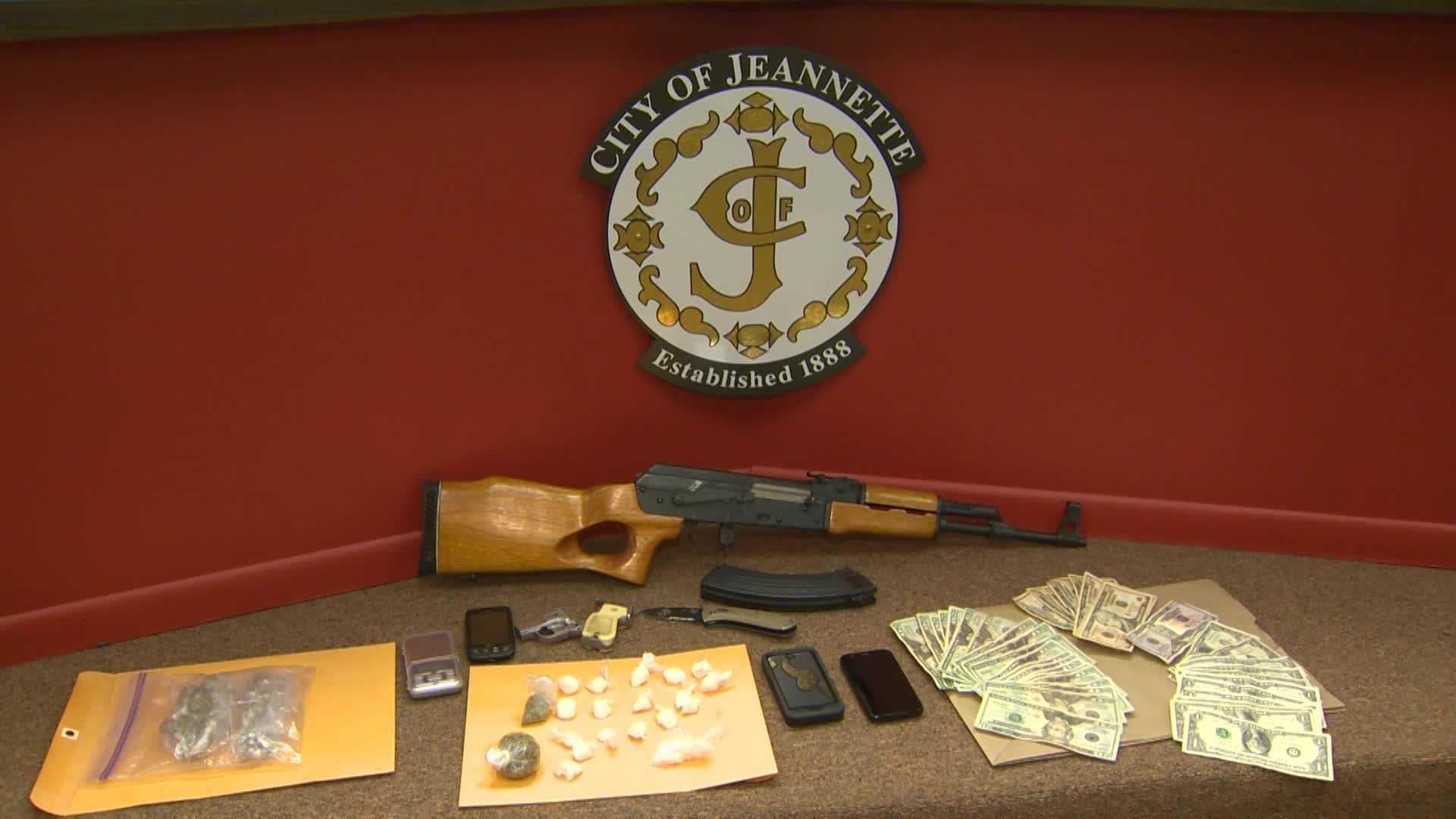 img-Jeannette Drug Raid