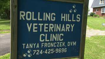 She took Garfield to Rolling Hills Veterinary Clinic, where he underwent surgery to remove the arrow.