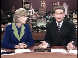 Sally Wiggin and Mike Clark in 1999