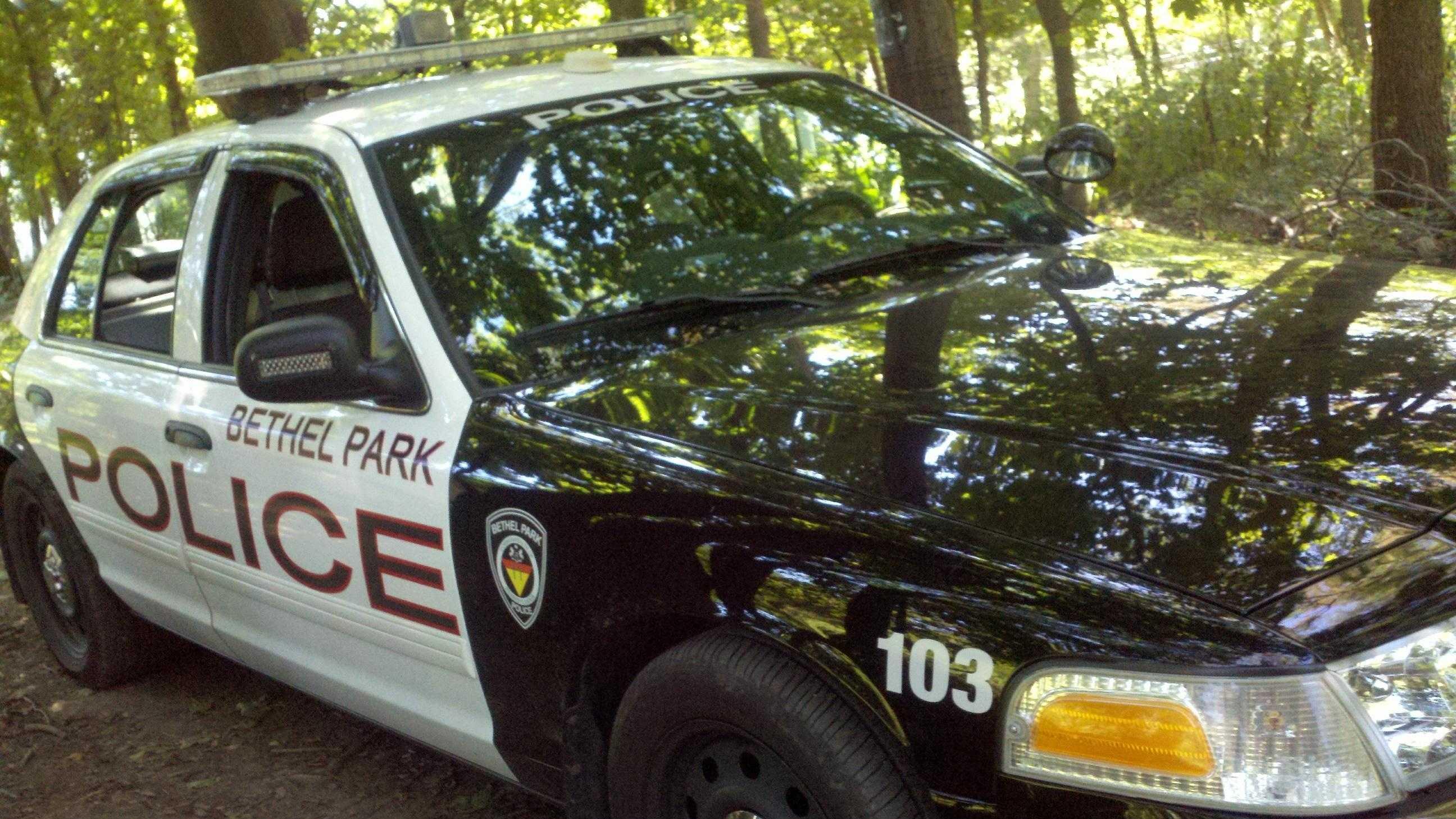 Bethel Park police car